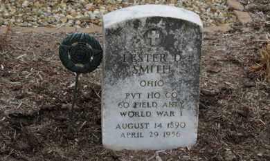 SMITH, LESTER D - Erie County, Ohio   LESTER D SMITH - Ohio Gravestone Photos