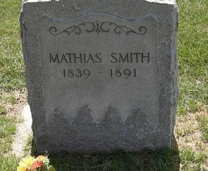 SMITH, MATHIAS - Erie County, Ohio | MATHIAS SMITH - Ohio Gravestone Photos