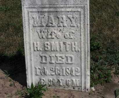 SMITH, MARY - Erie County, Ohio | MARY SMITH - Ohio Gravestone Photos