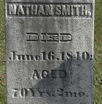 SMITH, NATHAN - Erie County, Ohio   NATHAN SMITH - Ohio Gravestone Photos