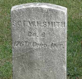 SMITH, SGT. W. H. - Erie County, Ohio   SGT. W. H. SMITH - Ohio Gravestone Photos