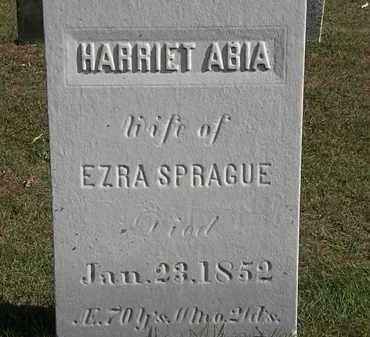 SPRAGUE, HARRIET - Erie County, Ohio | HARRIET SPRAGUE - Ohio Gravestone Photos