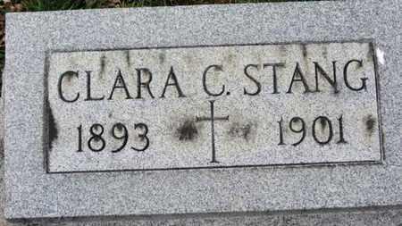 STANG, CLARA C. - Erie County, Ohio   CLARA C. STANG - Ohio Gravestone Photos