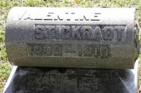STICKRADT, VALENTINE - Erie County, Ohio | VALENTINE STICKRADT - Ohio Gravestone Photos