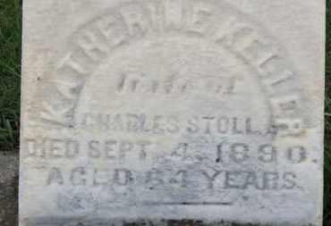 KELLER STOLL, KATHERINE - Erie County, Ohio   KATHERINE KELLER STOLL - Ohio Gravestone Photos