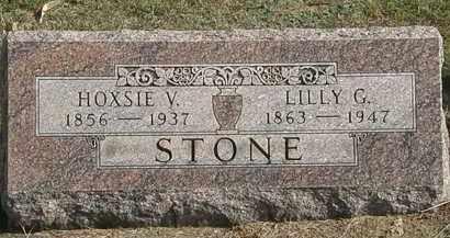 STONE, HOXSIE V. - Erie County, Ohio | HOXSIE V. STONE - Ohio Gravestone Photos