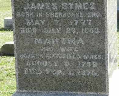 SYMES, JAMES - Erie County, Ohio | JAMES SYMES - Ohio Gravestone Photos