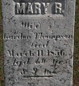 THOMPSON, MARY R. - Erie County, Ohio | MARY R. THOMPSON - Ohio Gravestone Photos