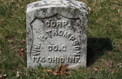 THOMPSON, WM. P. - Erie County, Ohio | WM. P. THOMPSON - Ohio Gravestone Photos