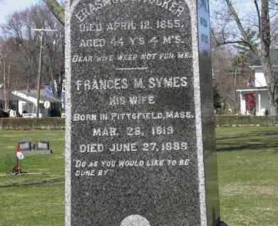 SYMES TUCKER, FRANCES M. - Erie County, Ohio | FRANCES M. SYMES TUCKER - Ohio Gravestone Photos