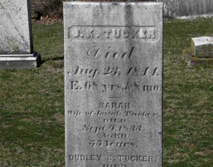 TUCKER, DUDLEY S. - Erie County, Ohio   DUDLEY S. TUCKER - Ohio Gravestone Photos