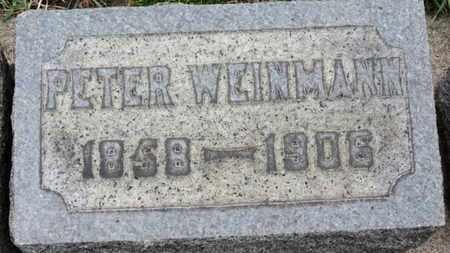 WEINMANN, PETER - Erie County, Ohio   PETER WEINMANN - Ohio Gravestone Photos
