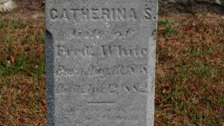 WHITE, CATHERINA S. - Erie County, Ohio | CATHERINA S. WHITE - Ohio Gravestone Photos