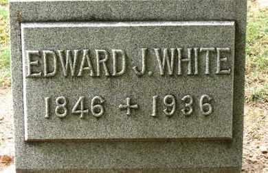 WHITE, EDWARD J. - Erie County, Ohio | EDWARD J. WHITE - Ohio Gravestone Photos