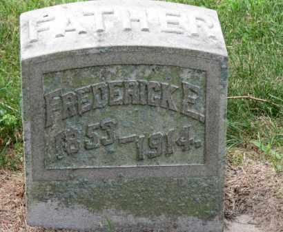 WHITE, FREDERICK E. - Erie County, Ohio | FREDERICK E. WHITE - Ohio Gravestone Photos