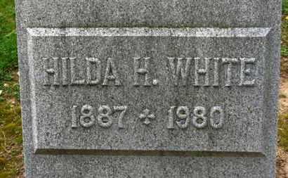 WHITE, HILDA H. - Erie County, Ohio   HILDA H. WHITE - Ohio Gravestone Photos