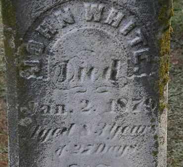 WHITE, JOHN - Erie County, Ohio   JOHN WHITE - Ohio Gravestone Photos