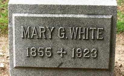 WHITE, MARY G. - Erie County, Ohio   MARY G. WHITE - Ohio Gravestone Photos