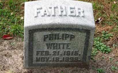 WHITE, PHILIPP - Erie County, Ohio | PHILIPP WHITE - Ohio Gravestone Photos