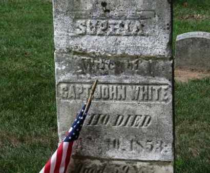 WHITE, SOPHIA - Erie County, Ohio | SOPHIA WHITE - Ohio Gravestone Photos