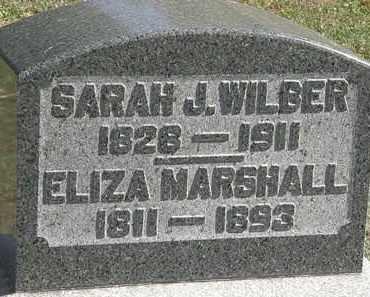 WILBER, SARAH J. - Erie County, Ohio | SARAH J. WILBER - Ohio Gravestone Photos
