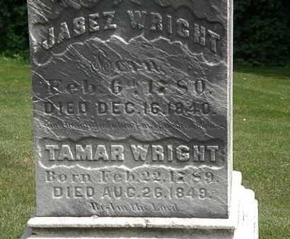 WRIGHT, TAMAR - Erie County, Ohio   TAMAR WRIGHT - Ohio Gravestone Photos