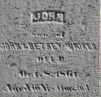 WRIKER, JOHN - Erie County, Ohio | JOHN WRIKER - Ohio Gravestone Photos