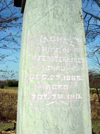 FENSTERMAKER, RACHEL - Fairfield County, Ohio   RACHEL FENSTERMAKER - Ohio Gravestone Photos