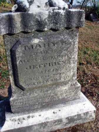 JEFFRIED, MARY B. - Fairfield County, Ohio | MARY B. JEFFRIED - Ohio Gravestone Photos