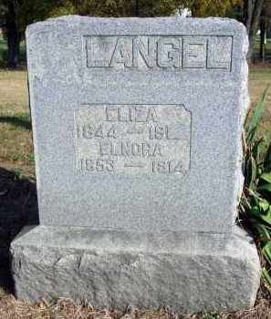 LANGEL, ELNORA - Fairfield County, Ohio   ELNORA LANGEL - Ohio Gravestone Photos