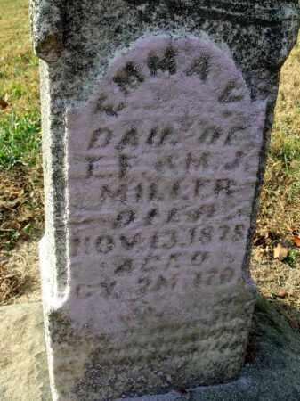 MILLER, EMMA V. - Fairfield County, Ohio | EMMA V. MILLER - Ohio Gravestone Photos