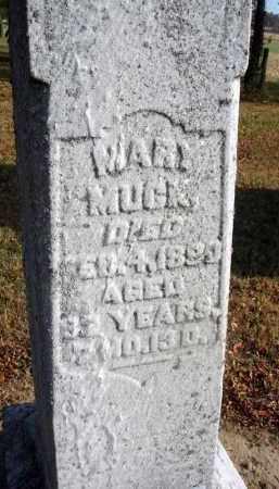 MUCK, MARY - Fairfield County, Ohio | MARY MUCK - Ohio Gravestone Photos