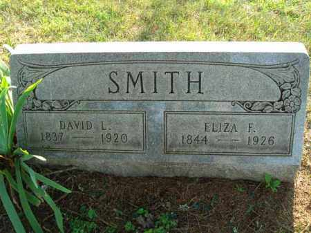 SMITH, ELIZA F. - Fairfield County, Ohio | ELIZA F. SMITH - Ohio Gravestone Photos
