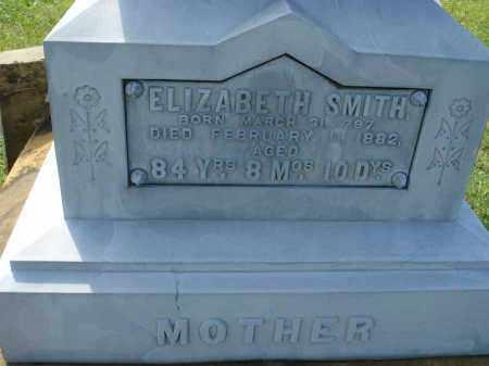 SMITH, ELIZABETH - Fairfield County, Ohio   ELIZABETH SMITH - Ohio Gravestone Photos