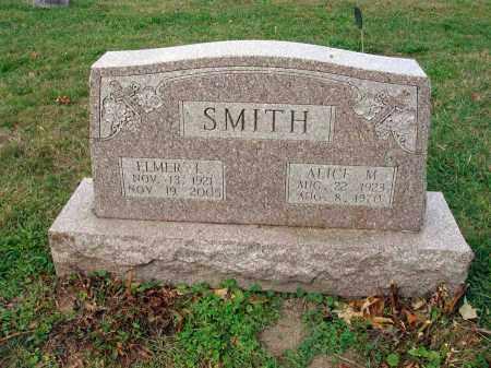 SMITH, ALICE M. - Fairfield County, Ohio | ALICE M. SMITH - Ohio Gravestone Photos
