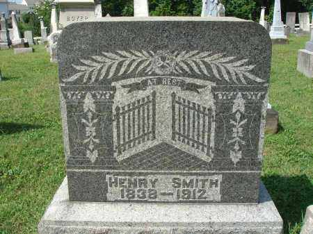 SMITH, HENRY - Fairfield County, Ohio | HENRY SMITH - Ohio Gravestone Photos