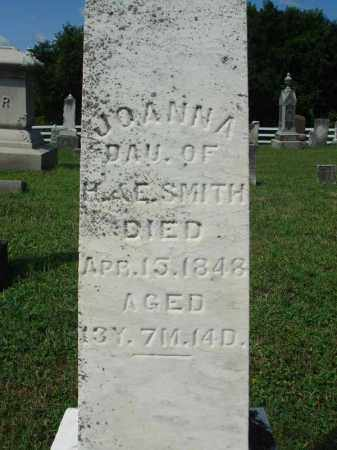 SMITH, JOANNA - Fairfield County, Ohio   JOANNA SMITH - Ohio Gravestone Photos