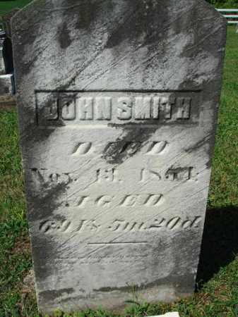 SMITH, JOHN - Fairfield County, Ohio | JOHN SMITH - Ohio Gravestone Photos
