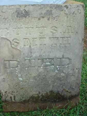SMITH, RUFUS - Fairfield County, Ohio | RUFUS SMITH - Ohio Gravestone Photos