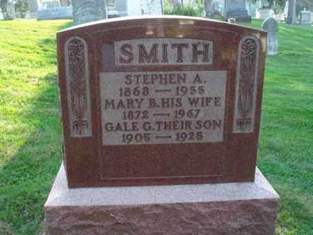 SMITH, MARY B. - Fairfield County, Ohio | MARY B. SMITH - Ohio Gravestone Photos
