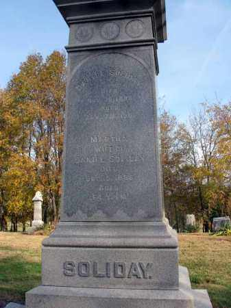 SOLIDAY, DANIEL - Fairfield County, Ohio   DANIEL SOLIDAY - Ohio Gravestone Photos
