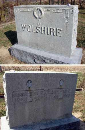 WOLSHIRE, MARGARET E. - Fairfield County, Ohio | MARGARET E. WOLSHIRE - Ohio Gravestone Photos