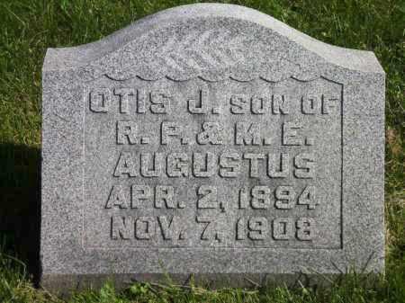 AUGUSTUS, OTIS J. - Fayette County, Ohio | OTIS J. AUGUSTUS - Ohio Gravestone Photos