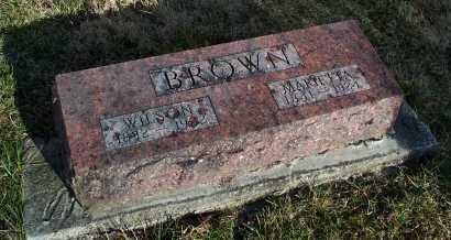 REEVES BROWN, MARIETTA - Fayette County, Ohio   MARIETTA REEVES BROWN - Ohio Gravestone Photos