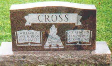 CROSS, WILLIAM B - Fayette County, Ohio | WILLIAM B CROSS - Ohio Gravestone Photos