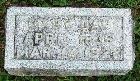 DAY, MARY - Fayette County, Ohio | MARY DAY - Ohio Gravestone Photos