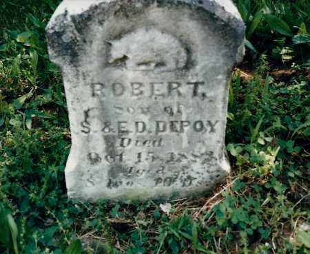DEPOY, ROBERT - Fayette County, Ohio | ROBERT DEPOY - Ohio Gravestone Photos