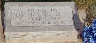 LYONS, RODNEY - Fayette County, Ohio | RODNEY LYONS - Ohio Gravestone Photos