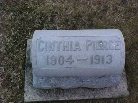 PIERCE, CINTHA - Fayette County, Ohio | CINTHA PIERCE - Ohio Gravestone Photos