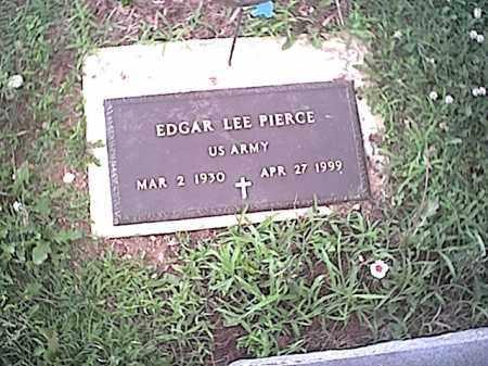 PIERCE, EDGAR LEE - Fayette County, Ohio   EDGAR LEE PIERCE - Ohio Gravestone Photos